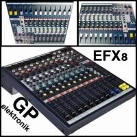 audio mixer SOUNDCRAFT EFX8