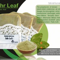 Jual [LIMITED] SABUN HERBAL HOMEMADE BIDARA ARAB [SIDHR LEAF] Murah