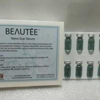 Beautee nano scar serum - (serum bekas jerawat, bopeng, dermaroller)