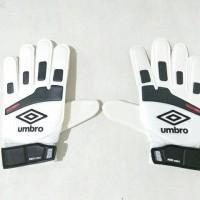 Jual Sarung Tangan Kiper Umbro Neo Shield Glove JUNIOR White Black Red Murah