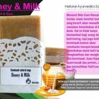 Jual [LIMITED] SABUN HERBAL HOMEMADE SUSU & MADU [HONEY & MILK] Murah
