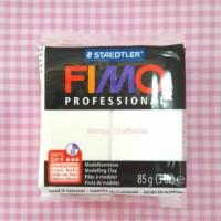Jual FIMO PROFESSIONAL WHITE 85Gr Bahan POLYMER CLAY Putih Premo BJD Murah