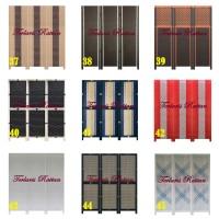 Harga sketsel partisi ruangan 3 pintu pembatas | antitipu.com
