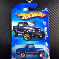 E-112 Hot Wheels Jeep Scrambler Blue Heat Fleet 2009 K-Mart Redline