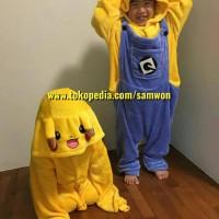 Jual Baju Tidur Anak Minions Pajamas Baju Cosplay Piyama Onesie Murah