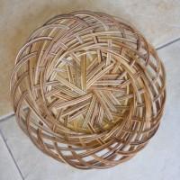 Jual piring lidi diameter 24cm Murah