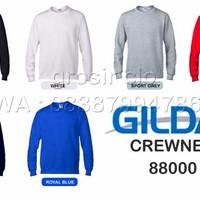 Jual Gildan Sweater Crewneck Polos Murah S-M-L-XL Murah