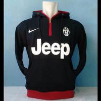 Jual Hoodie Half Zipper Juventus Murah