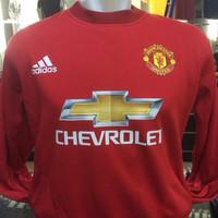 Jual Hoodie Jumper Manchester United Merah Murah