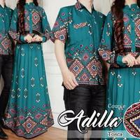Jual Couple Batik Ethnic Adilla Tosca Diskon 294603 Murah