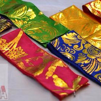 Jual Sabuk Oby Obi Kebaya Bali ikat pinggang p**da emas adat aksesoris Murah