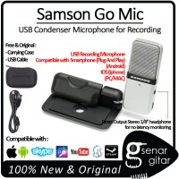 Samson Go Mic - USB Recording Microphone, Android, IOS, Smule, Youtube