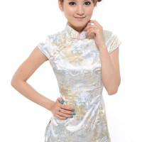 Jual Toserba Store Corp Ethnic QiPao Blouse Import Purple  Murah