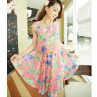 Jual Toserba Store Corp Dress Flower Pink  Murah