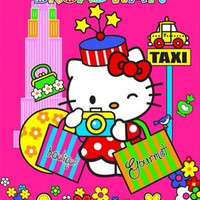 Jual Selimut Rosanna hello kitty Broadway | soft panel blanket rosanna Murah