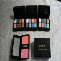REVLON SUSUN MINI - 2 Blush On + 8 Eyeshadow Palette 2 Tingkat /Tumpuk