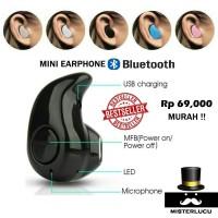 harga Headset Earphone Handsfree Mini Bluetooth Tokopedia.com
