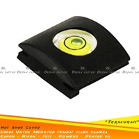 Hot Shoe Cover FLash Bubble Kamera DSLR Universal Canon Nikon Fuji dll