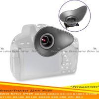 Eyecup Eyepiece 22mm Nikon D5200 D5100 D5000 D3000 D3100 D7000 D90 D80