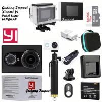 Complete Paket Lengkap Xiomi Kamera Gopro Xiaomi Yi Tra Limited