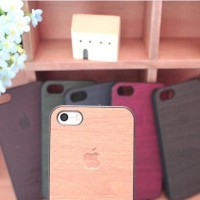Jual WOOD CASE/CASING HP IPHONE 4/4s/5/5s/6 Murah