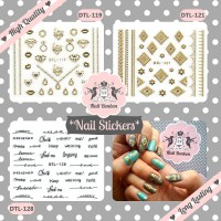 Nail Stickers, Stiker Kuku, Nail Stickers DTL series Part 2
