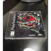 Jual The Lost World Jurassic Park Sony Ps 1 psx complete rare Murah