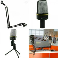 Mic sf 920 + stand mic arm + pop filter