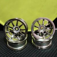 Jual velg drift 1/10 Kforce Racing offset 8mm (celong) Murah