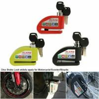 Kunci Disc Alarm Motor / Gembok alarm motor / Pengaman motor alarm