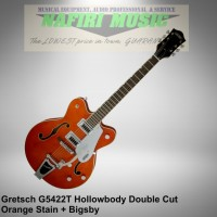 Gitar Gretsch G5422T Electromatic Hollow Body Orange Stain with Bigsby