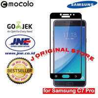 Mocolo Tempered Glass Samsung C7 Pro Full Curved Glass