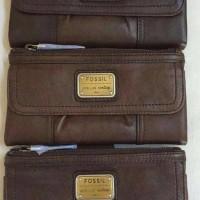Jual OP2126 Dompet Fossil Emory Wallet Espresso Original KODE Bimb2603 Murah