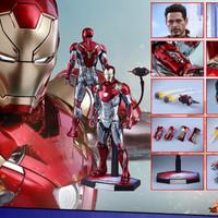Jual Hot Toys Iron Man Mark XVLII Spiderman Homecoming Mark 47 MMS427D19 Murah