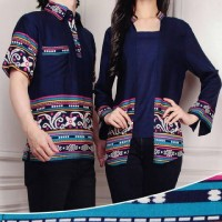 Jual KP4203 COUPLE PRILLYcouple batik murahcouple kebaya KODE TYR4259 Murah