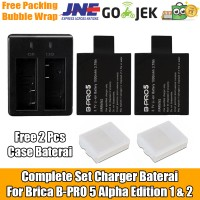 Jual Complete Set Baterai Charger For Brica B-PRO 5 Alpha Edition 1 & 2 Murah