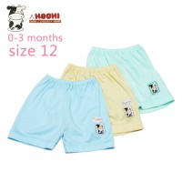 Hachi Baby Wear Short Pants Color Isi 3 Pcs