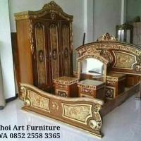 Jual set kamar angola jati(furniture,tempat tidur,nakas) Murah