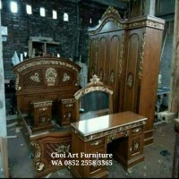 Jual set kamar angola pintu 4(furniture,tempat tidur) Murah