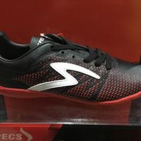 promo sepatu futsal specs apache warna hitam merah ORIGINAL