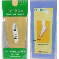 kaos kaki fit bob 70d foot cover one size soft protection penutup
