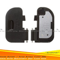 Sparepart Replacement Cover Battery - Tutup Baterai Canon 60D