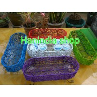 Tempat Air mineral Gelas /Keranjang Aqua Gelas