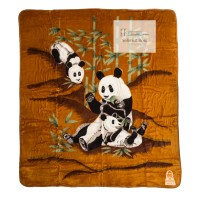 Selimut Bulu Halus Tebal Panda (Cardinal) 220 x 240 cm