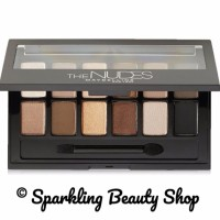 Jual Maybelline The Nudes Eyeshadow Palette - Hitam Murah
