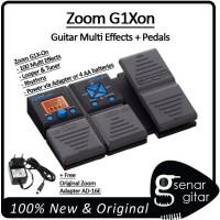 Zoom G1Xon Guitar Multi Effects + Pedals, Multi Efek Gitar Elektrik