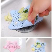 AR023 Penyaring Lubang Air Dapur Rambut WC Starfish Kitchen Sink Drain