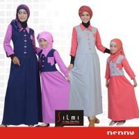 Baju Couple yang bagus dan murah, Baju Muslim Keluarga Branded Silmi N