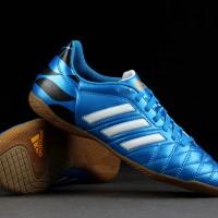 sepatu futsal adidas 11 questra biru ic original