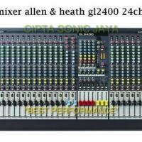 mixer allen heath gl2400 424 24 ch